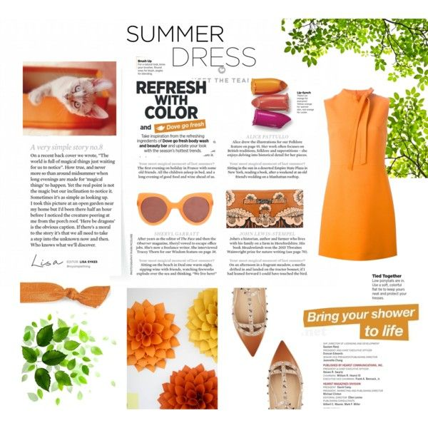 Refresh with Colors by ljdia on Polyvore featuring polyvore fashion style Valentino