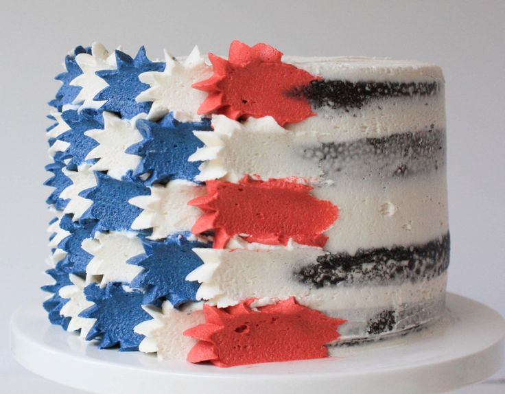 17 best ideas about petal cake on pinterest color cake for American flag cake decoration