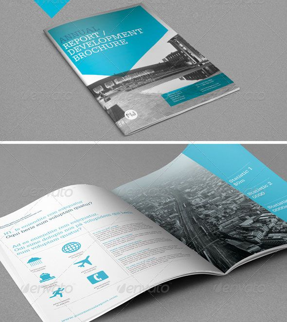brochure-template-2013-25jpg (590×662) Graphic Design - report template