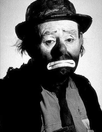Legendary circus clown Emmett Kelly
