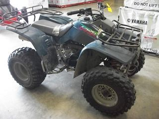 1996 kawasaki lakota 300, front and rear rack,great sport/utility