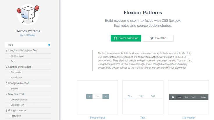 Flexbox Patterns: The Ultimate CSS Flexbox Code Library  Design hongkiat.com