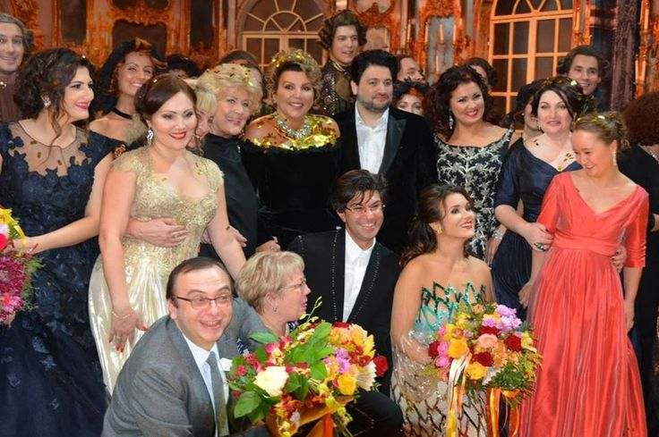 """Opera Ball"" in honor of the 75th anniversary of Elena Obraztsova at the Bolshoi Theatre"