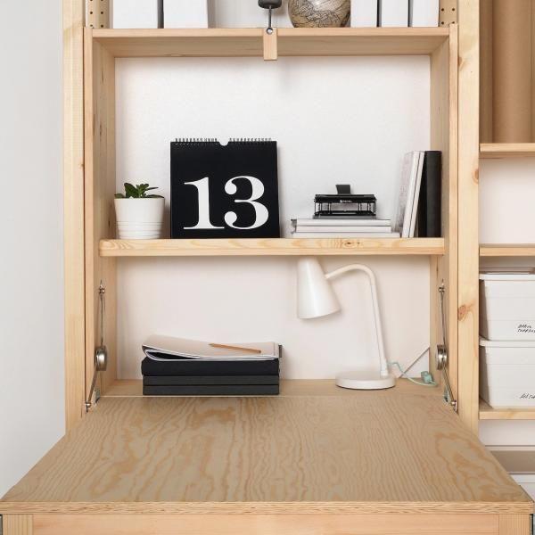 21 Ikea Desk Hacks For A Stylish Home Office Hacksaholic Foldable Table Ikea Folding Desk Ikea Desk Hack