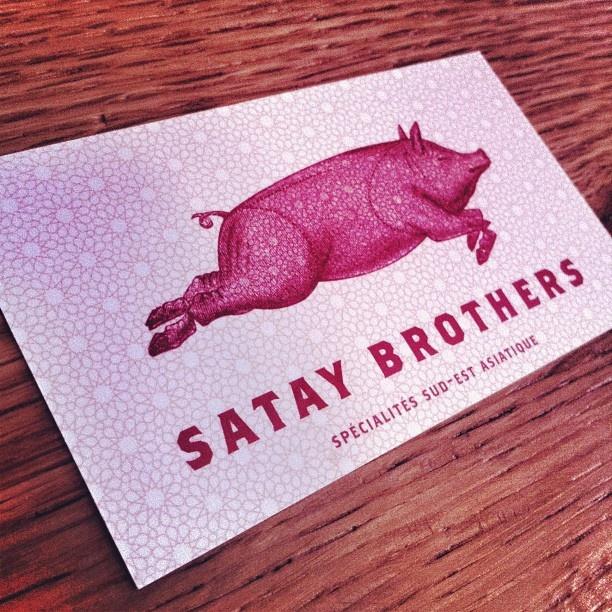 Satay Brothers.    Ovrgrnd.ca