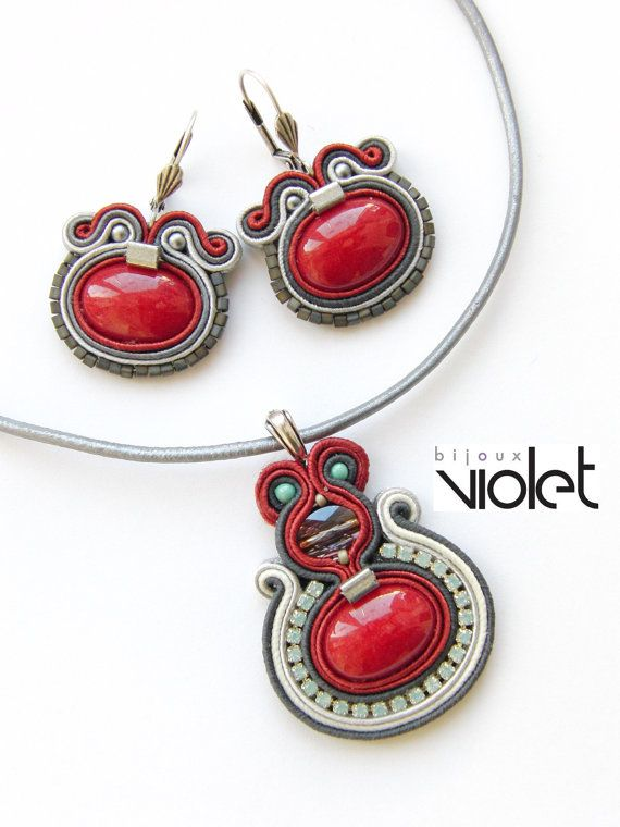 Forever Love Soutache Jewelry Set