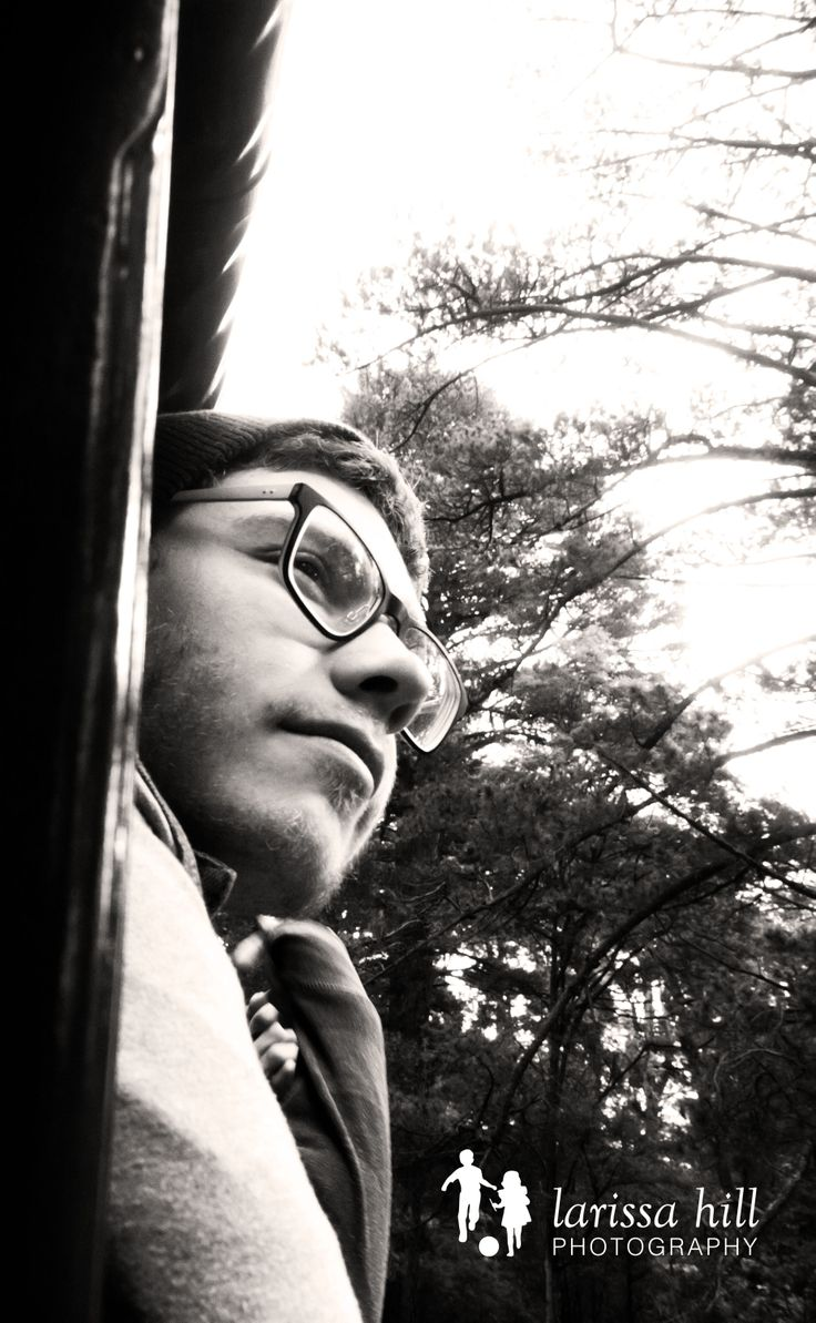 boy, teenager, black and white, portrait, glasses, Puffing Billy,