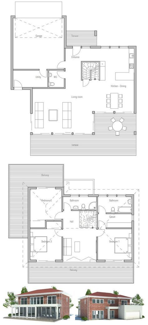 1000 Ideas About Large Floor Plans On Pinterest Family