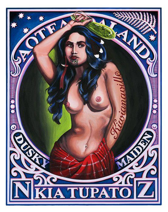 Lester Hall, Artist, Bay of Islands, Kiwiana Series