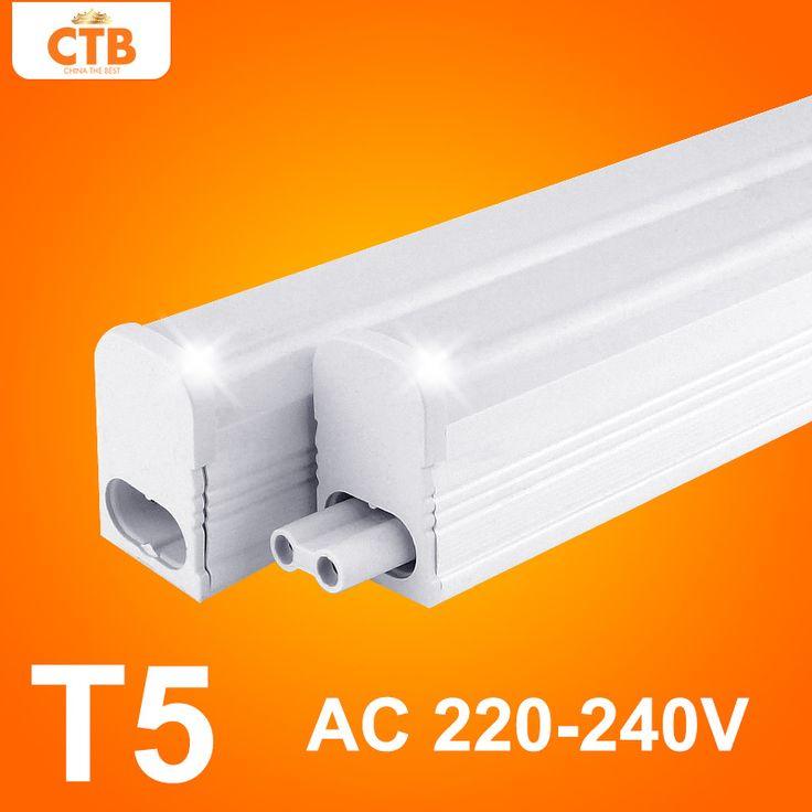 LED Tube T5 Light 220v 240v 30cm 6w 60cm 10w LED Fluorescent Tube T5 Wall Lamps Cold White T5 Bulb Light  Price: 9.61 USD