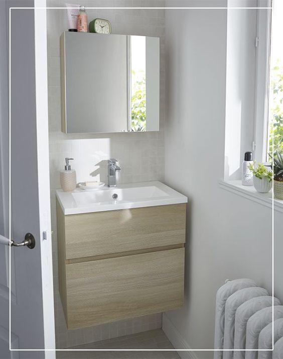 17 best images about salles de bains on pinterest coins style and design for Meuble salle de bain calao