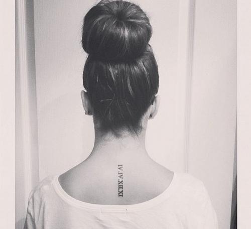 Moda: I #minimal #tattoo che fanno tendenza (link: http://ift.tt/2buoSvH )