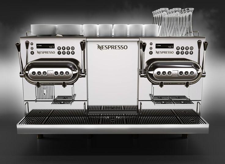 Nespresso Aguila 220 3D Model - 3D Model