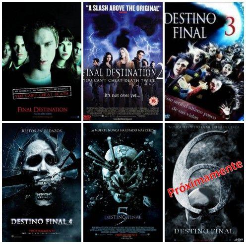 11va Tanda Saga Especial De Destino Final Saga Destino Final 4 Destino