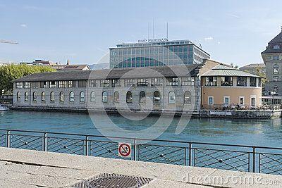 Batiment des Forces Motrices, Geneva cultural centre. Switzerland
