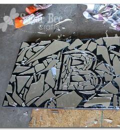 171 curated upcycle ideas by queenliz5 bird feeders for Broken mirror craft ideas