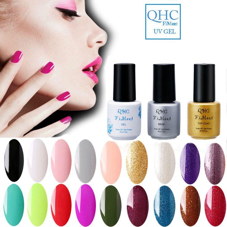 QHC FiMeet Color Tale UV Nail Gel Polish 6ML UV Gel Polish Soak off Long Lasting Gel Lacquer Free Shipping
