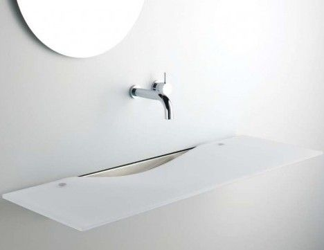 """Wash this space! Turning on the creative faucet gives """"brain drain"""" a whole new meaning – as illustrated by these 15 sink-ly spectacular washbasins."""