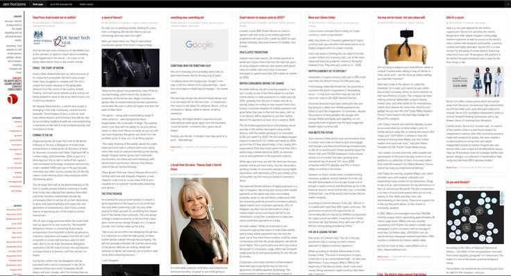 A new media news site using WordPress Masonry. A very successful site!