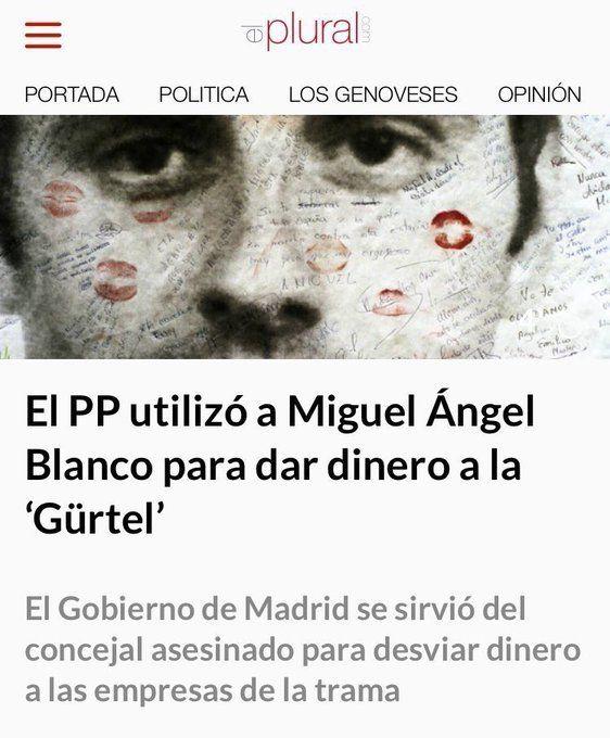 Los tuiteros recuerdan al PP su 'homenaje' a Miguel Ángel Blanco cuando utilizó su fundación para falsear facturas http://www.eldiariohoy.es/2017/07/los-tuiteros-recuerdan-al-pp-su-homenaje-a-miguel-angel-blanco-cuando-utilizo-su-fundacion-para-falsear-facturas.html?utm_source=_ob_share&utm_medium=_ob_twitter&utm_campaign=_ob_sharebar #actualidad #denuncia #pp #rajoy #corrupcion #anticorrupcion #gente #MiguelAngelBlanco #protesta #politica #españa #podemos #unidospodemos