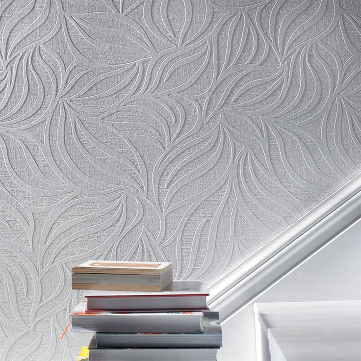 Living Room Gray Paint With Paintable Wall Paper