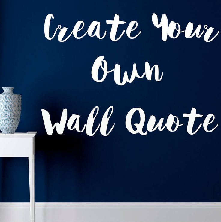 Are you interested in our Custom Wall Stickers? With our Custom Wall Quote Stickers you need look no further.
