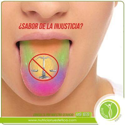 Nutricion Estetica: ¿A qué sabe la injusticia? Nutricionista Lima