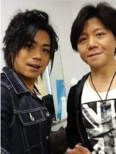 Japanese Voice Actors~ Daisuke Namikawa (Italy) & Noriaki Sugiyama (England)