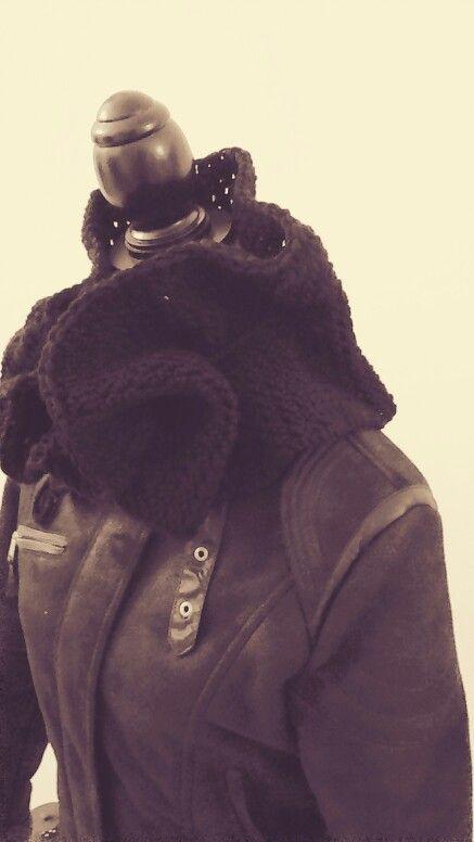 Crochet scarf j&k