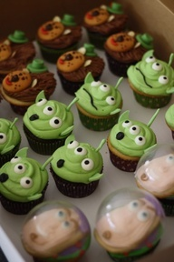 """Toy Story Cupcakes: Buzz Lightyear and Aliens"""" data-componentType=""""MODAL_PIN"""