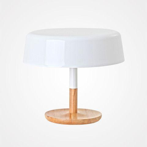 White Table Lamp Flat