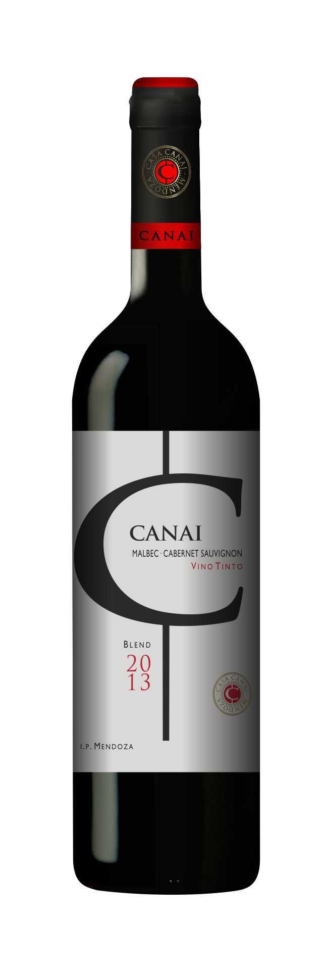 Blend Malbec-Cabernet Sauvignon CASA CANAI Alta Gama