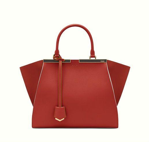 Fendi 3Jours red bag.