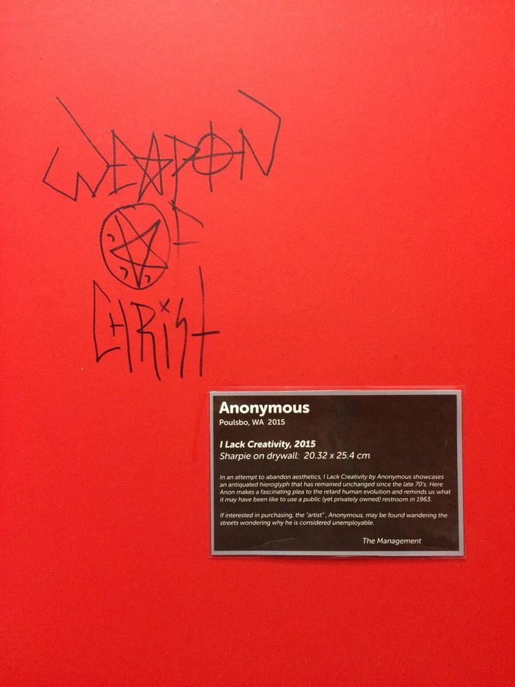 This is the most clever response to bathroom graffiti I've ever seen