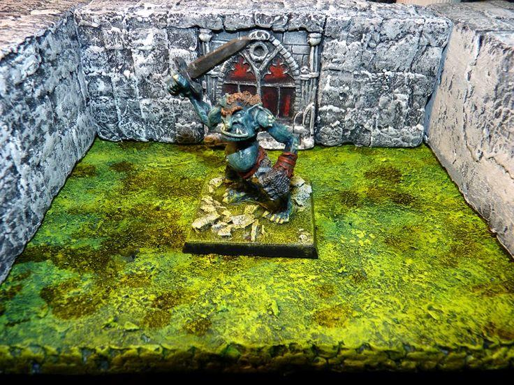 Marauder Troll MM40 : with Sword.