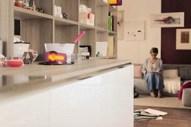 Anna, Carlo, Edoardo e Luca tra ghirlande di carta e giochi di luce. #carrerastory #passioni http://www.venetacucine.com/album/ita/