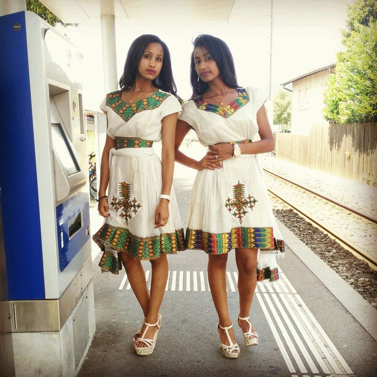 Traditional Eritrean Amp Ethiopian Dress African Style