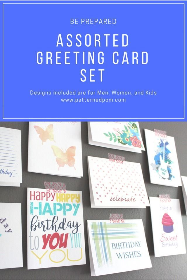 Be Ready For Any Party Set Of 10 Assorted Birthday Cards For Men Women Kids Bulk F Birthday Card Printable Birthday Cards For Men Birthday Cards For Women
