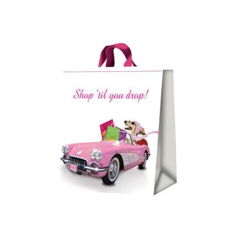 Torba Saluki Dog Pink Lady