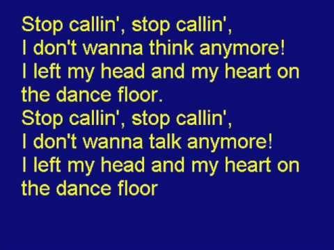 Telephone - *Sing along with* Lady GaGa lyrics