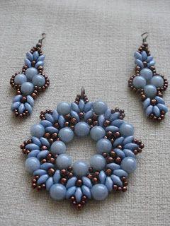 Beszter gyöngyei és egyéb hóbortok: Kék-bronz Big Iris kiegészülve