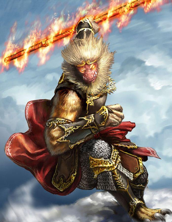 Monkey King Chinese Legend