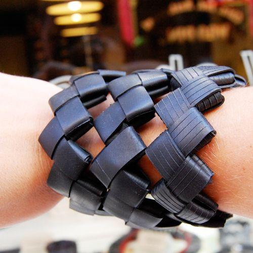 Fietsband armband
