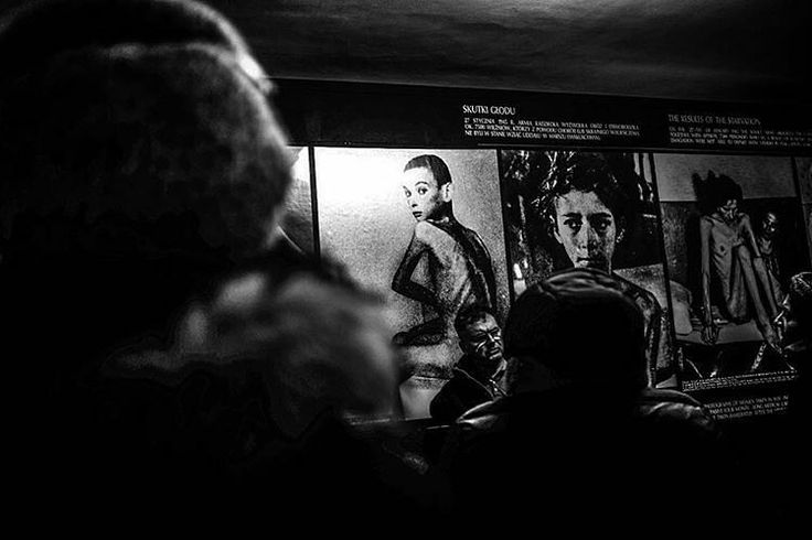 --- Photo by @giovannicobianchi --- Auschwitz I. Block 6. Part of the exhibition dedicated to the topic of hunger at Auschwitz.