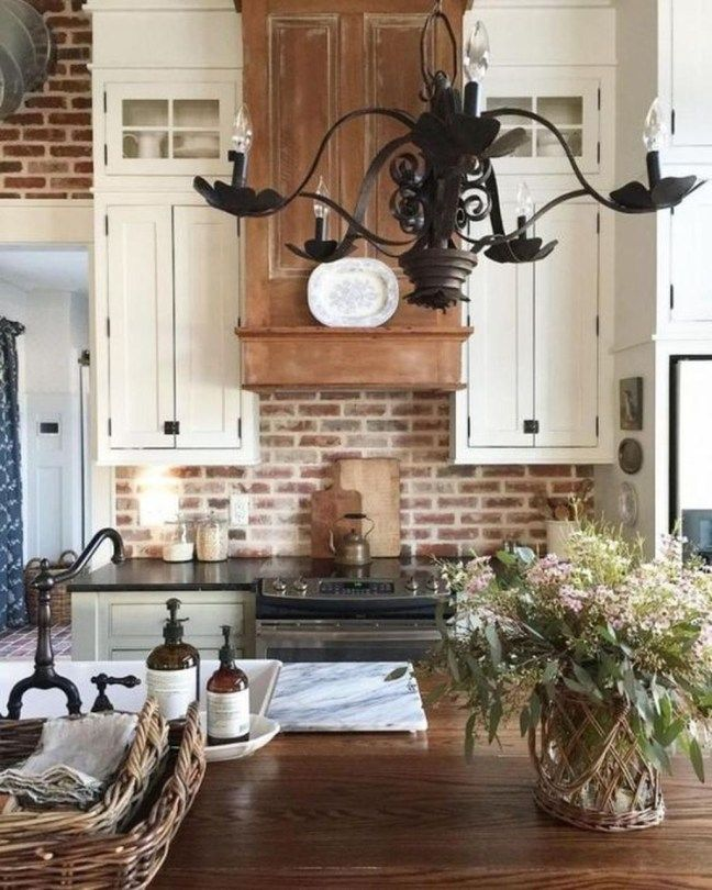 30 Totally Inspiring Rustic Farmhouse Kitchen Ideas Trendhmdcr Rustic Farmhouse Kitchen Farmhouse Kitchen Decor Beautiful Kitchen Cabinets