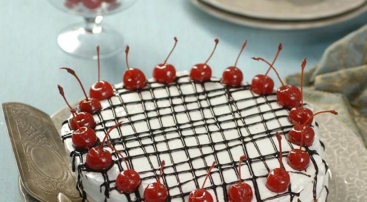 Итальянский торт с рикоттой и вишней