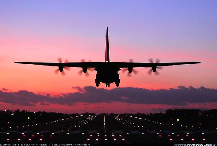 Lockheed Martin C-130J-30 Hercules C4 @ Brize Norton, UK