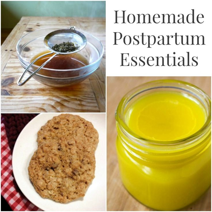 Homemade Postpartum Essentials - 6 awesome DIYs for mama & baby like lactation cookies, nipple butter, gripe water, and more!