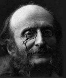German composer and cellist, Jacques Offenbach