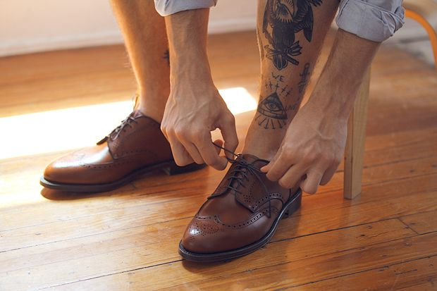 <3 shoes and <3 tattoo... always a special place in my heart for brogues